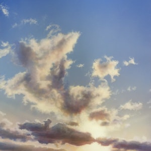 (CreativeWork) Burn Through Cloud by David Tracey. arcylic-painting. Shop online at Bluethumb.