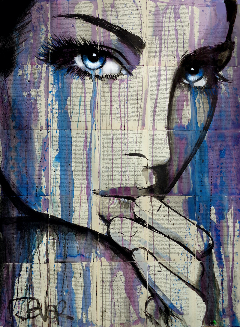 (CreativeWork) INDICA by loui jover. other-media. Shop online at Bluethumb.