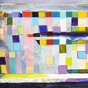 (CreativeWork) Colourfield - The persistence of Colour by Paul Drought. acrylic-painting. Shop online at Bluethumb.