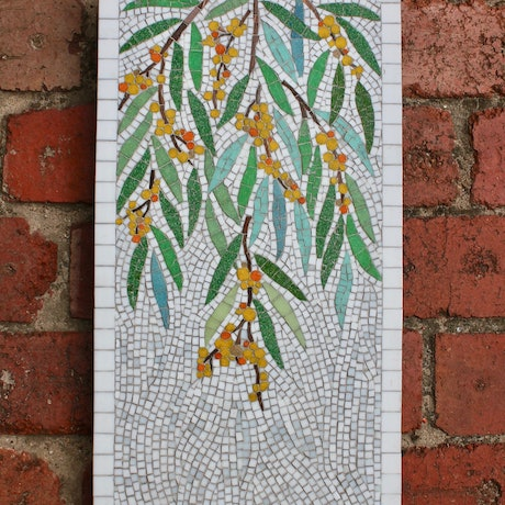 (CreativeWork) Golden Wattle by Natalie Kouts. Other Media. Shop online at Bluethumb.