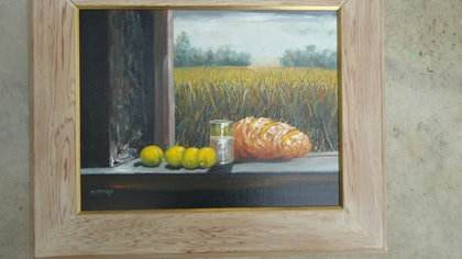 (CreativeWork) COUNTRY RETREAT by edward mitford. oil-painting. Shop online at Bluethumb.