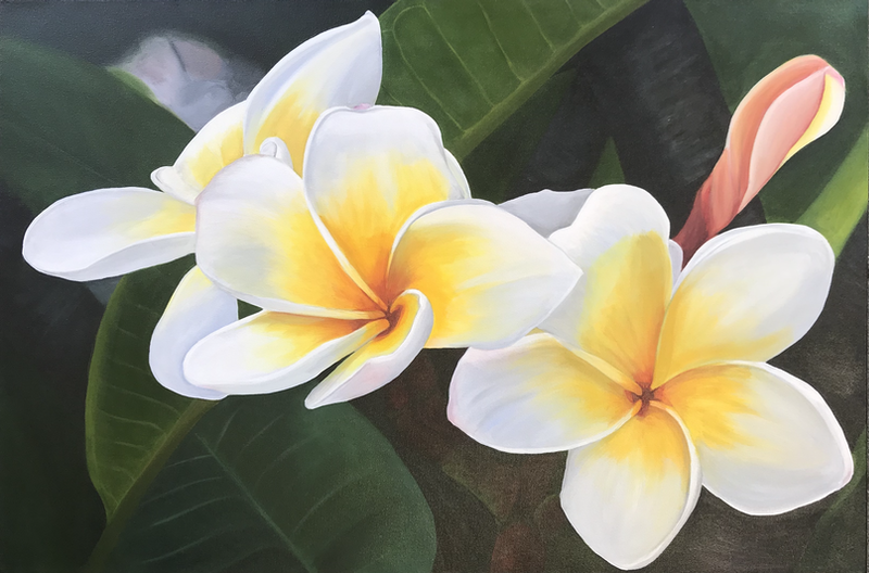 (CreativeWork) Scent of Summer (Price adjusted) by Hayley Kruger. acrylic-painting. Shop online at Bluethumb.