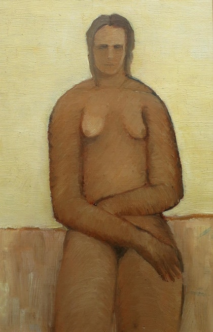 Nude in frame