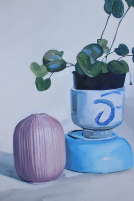 (CreativeWork) Composition #17 by Tom Parsons. Oil Paint. Shop online at Bluethumb.