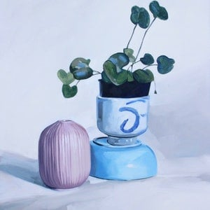 (CreativeWork) Composition #17 by Tom Parsons. oil-painting. Shop online at Bluethumb.