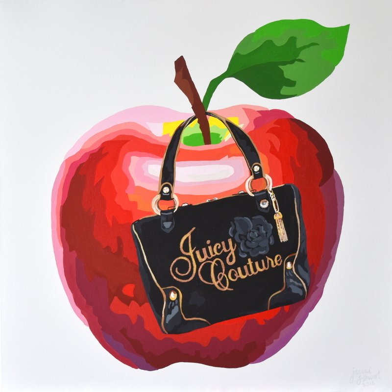 (CreativeWork) SWEET & JUICY by Jacqui Stewart. acrylic-painting. Shop online at Bluethumb.