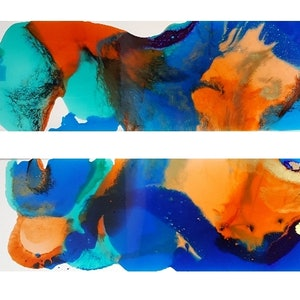 (CreativeWork) Peck by Felicity Moore. resin. Shop online at Bluethumb.