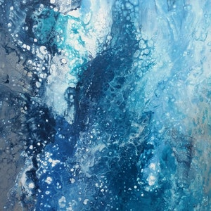(CreativeWork) Just Swell by Ana Cottilla. arcylic-painting. Shop online at Bluethumb.