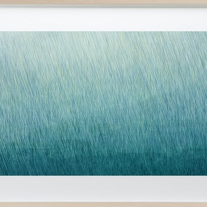 (CreativeWork) 'The Wet Lands' Mixed media painting. Framed ready to hang 84 x 60cm by George Hall. arcylic-painting. Shop online at Bluethumb.