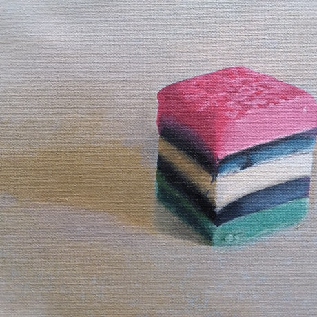 (CreativeWork) Up Close and Sweet by Mandy Page. Acrylic Paint. Shop online at Bluethumb.