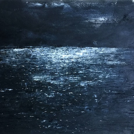 (CreativeWork) Silent and Still  by Tiffany Blaise. Oil Paint. Shop online at Bluethumb.