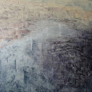 (CreativeWork) Inland Sea by patricia walsh. oil-painting. Shop online at Bluethumb.