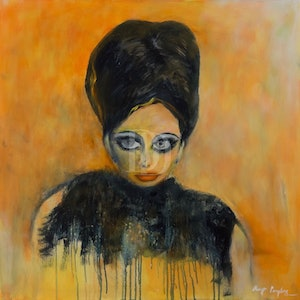 (CreativeWork) Sultry Sophie by Olwyn Pampling. arcylic-painting. Shop online at Bluethumb.