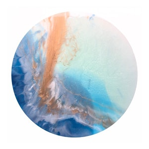 (CreativeWork) Luna Glow by Patrycja Whipp. resin. Shop online at Bluethumb.