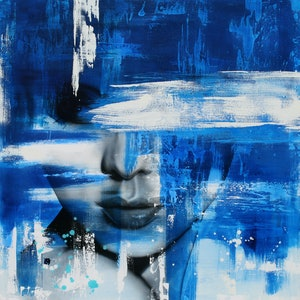 (CreativeWork) Opaque by corban Renouf. mixed-media. Shop online at Bluethumb.