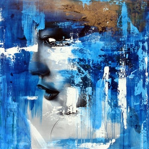 (CreativeWork) Ethereal by corban Renouf. mixed-media. Shop online at Bluethumb.