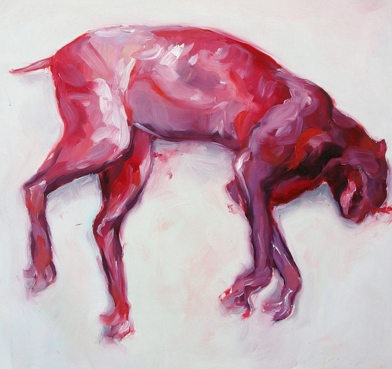 (CreativeWork) Bobcat by Jemma Cakebread. Oil Paint. Shop online at Bluethumb.