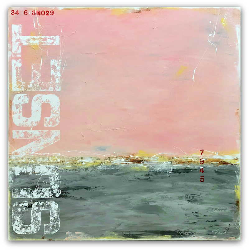 (CreativeWork) Reflections of the Day by Sabina D'Antonio. mixed-media. Shop online at Bluethumb.