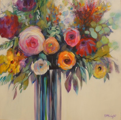 (CreativeWork) BY YOUR SIDE by Sandra Michele Knight. arcylic-painting. Shop online at Bluethumb.