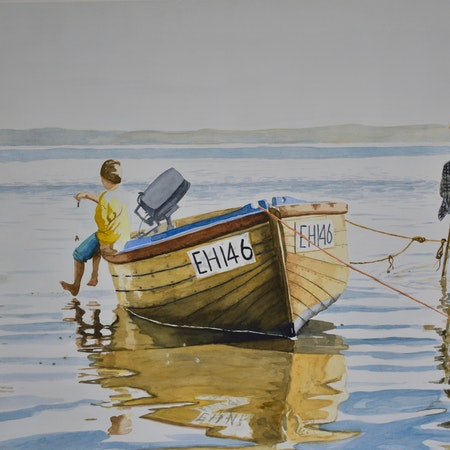 3  boys and their boat,  French Island