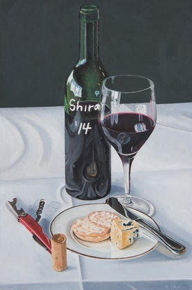 (CreativeWork) Lacking Sophistication by Rob Kennedy. Oil. Shop online at Bluethumb.