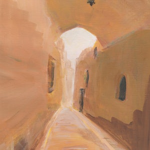 (CreativeWork) Ancient Path by Katherine Spadaro. arcylic-painting. Shop online at Bluethumb.