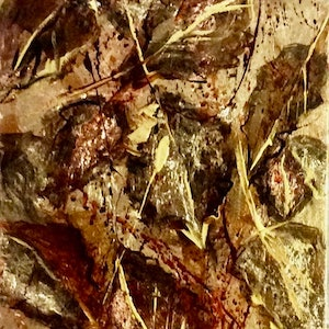 (CreativeWork) When Autumn Leaves ** by Louise Croese. mixed-media. Shop online at Bluethumb.