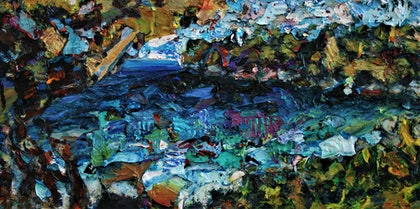 (CreativeWork) Tamarama beach by tomas maceiras. arcylic-painting. Shop online at Bluethumb.