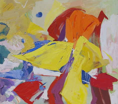 (CreativeWork) Child's Play by Lise Temple. Oil. Shop online at Bluethumb.