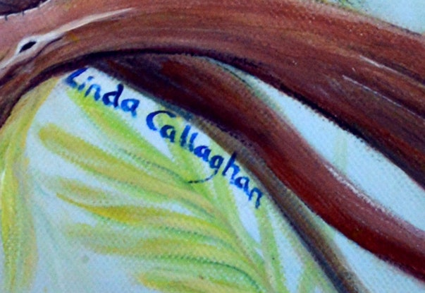 (CreativeWork) Rainbow Days by Linda Callaghan. Acrylic Paint. Shop online at Bluethumb.
