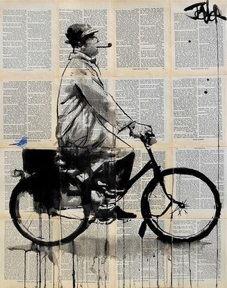 (CreativeWork) RIDE ON by loui jover. Drawings. Shop online at Bluethumb.