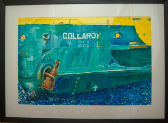 (CreativeWork) Collaroy by Geoff Hargraves. Acrylic Paint. Shop online at Bluethumb.