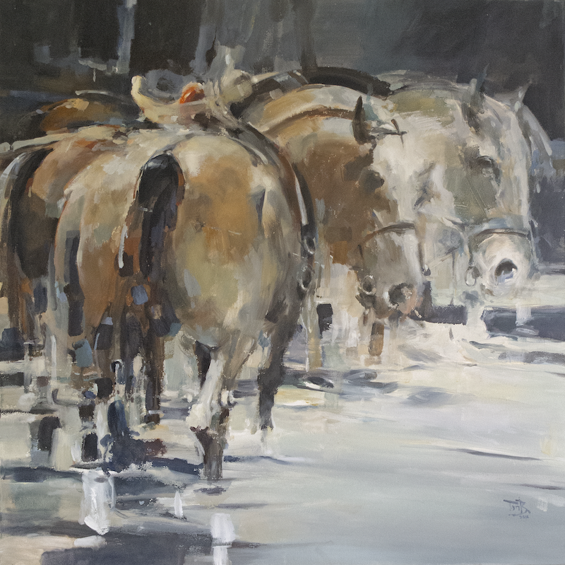 (CreativeWork) After Battle 2 ( Oil ) by Tony Belobrajdic. Oil Paint. Shop online at Bluethumb.