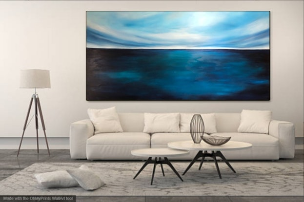 (CreativeWork) EXPEDITION (huge 1.8 meter wide)   by Kat Las. Acrylic Paint. Shop online at Bluethumb.