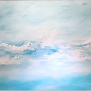 (CreativeWork) TIMELESS WAVE (huge 1.8 meter wide)  by Kat Las. arcylic-painting. Shop online at Bluethumb.