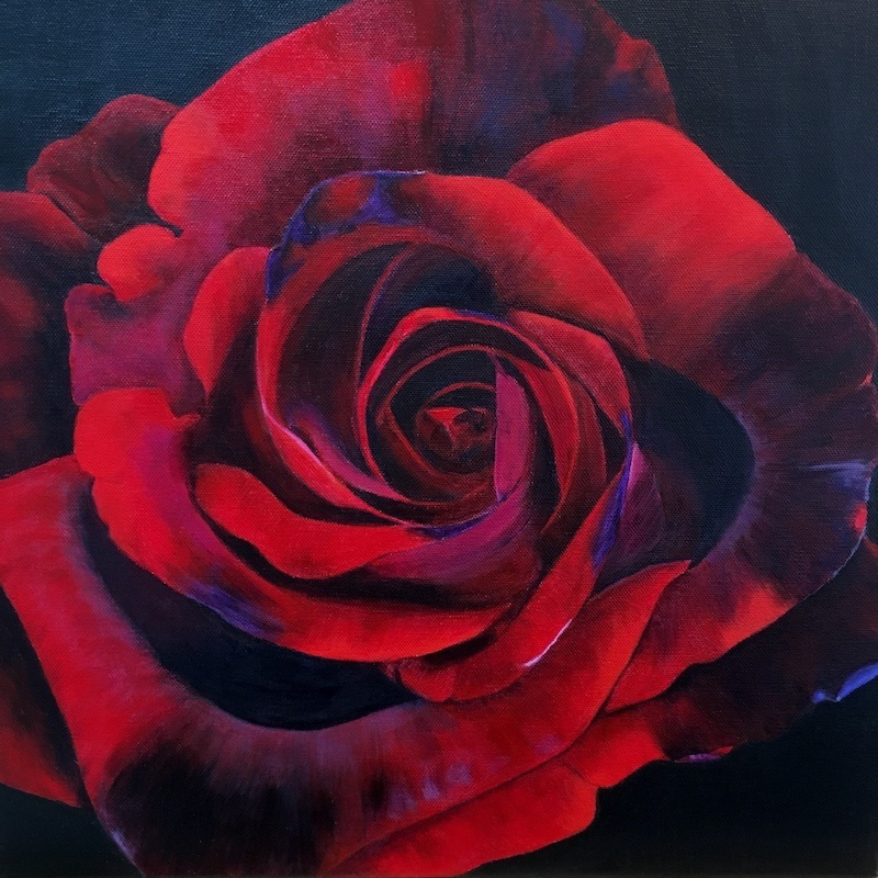 (CreativeWork) Obsession by Patricia Hillard. arcylic-painting. Shop online at Bluethumb.
