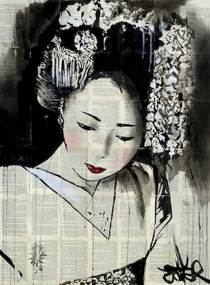 (CreativeWork) EMPRESS by loui jover. Mixed Media. Shop online at Bluethumb.