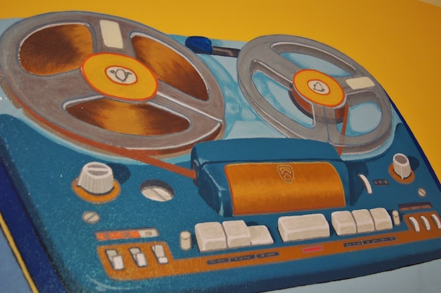 (CreativeWork) Real To Reel by BRETT ROSE. Acrylic Paint. Shop online at Bluethumb.