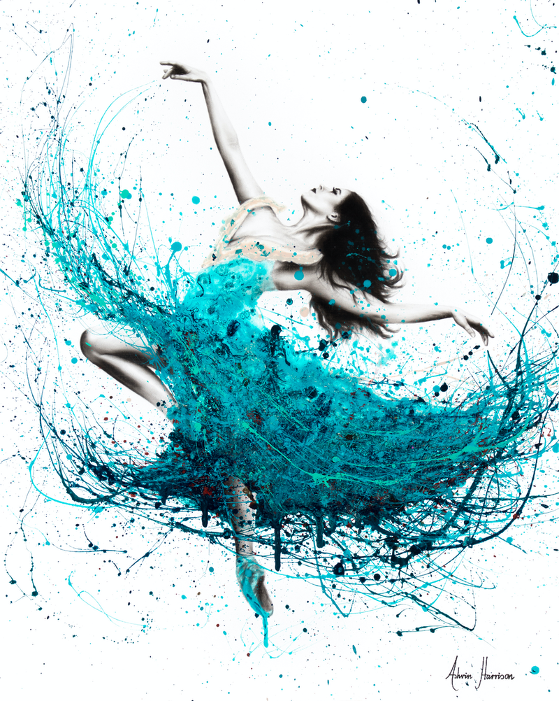 (CreativeWork) Ballerina Waves - Limited Edition Print Ed. 3 of 100 by Ashvin Harrison. Print. Shop online at Bluethumb.