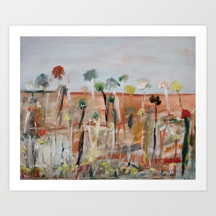 AUSTRALIAN OUTBACK 71- LIMITED EDITION FINE ART HAND SIGNED PRINT 1/100 Ed. 1 of 100