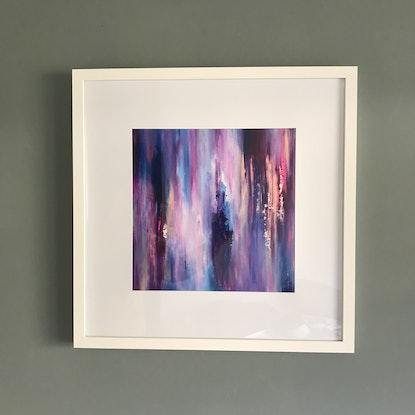 (CreativeWork) 'Winter Dance' by Lisa Penney. Oil Paint. Shop online at Bluethumb.