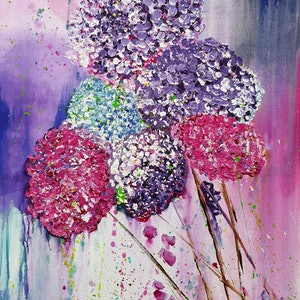 (CreativeWork) First Blush of Spring  by Deborah Christensen. acrylic-painting. Shop online at Bluethumb.