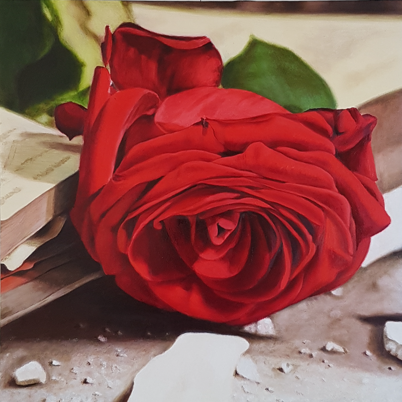 (CreativeWork) If there is something I regret, it is the time I have not been able to give to you. by Michelle Henry. Oil Paint. Shop online at Bluethumb.