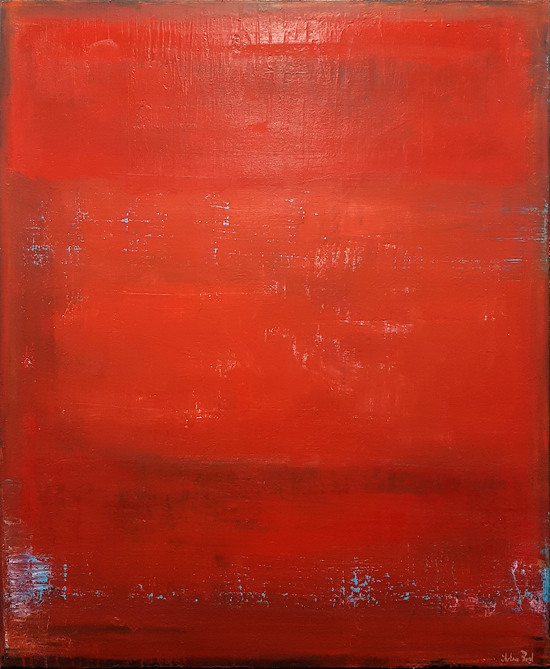 (CreativeWork) Rouge by Artem Bryl. Acrylic Paint. Shop online at Bluethumb.