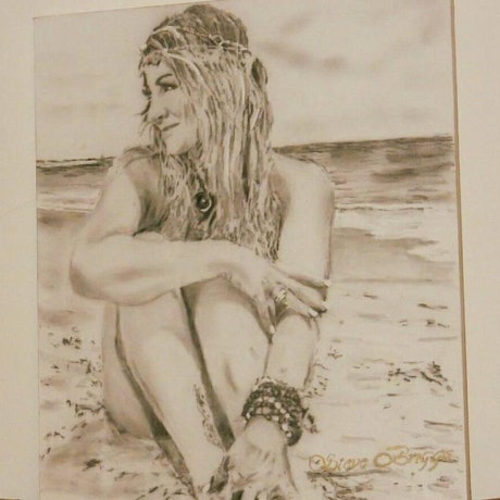 (CreativeWork) Life Is by steve briggs. Drawings. Shop online at Bluethumb.
