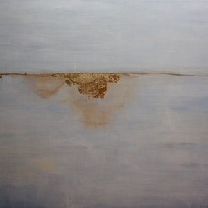 (CreativeWork) Drifting Fog by Pam Altschwager. arcylic-painting. Shop online at Bluethumb.