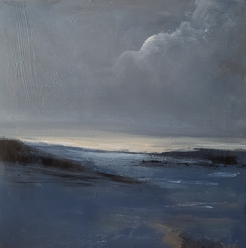 (CreativeWork) Inlet by Andrea Edwards. arcylic-painting. Shop online at Bluethumb.