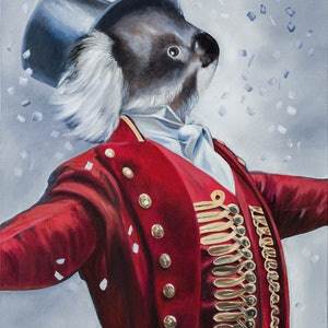 (CreativeWork) The Other Greatest Showman Ed. 1 of 150 by Mia Laing. print. Shop online at Bluethumb.