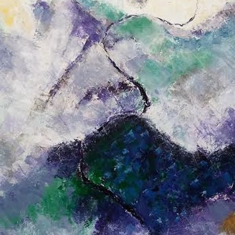 (CreativeWork) Stairway to Heaven by Jennifer Price. Oil Paint. Shop online at Bluethumb.