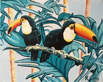 Tropical Toucans - CLEARANCE - REDUCED